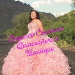 Quinceañera's dresses costume maid high couture